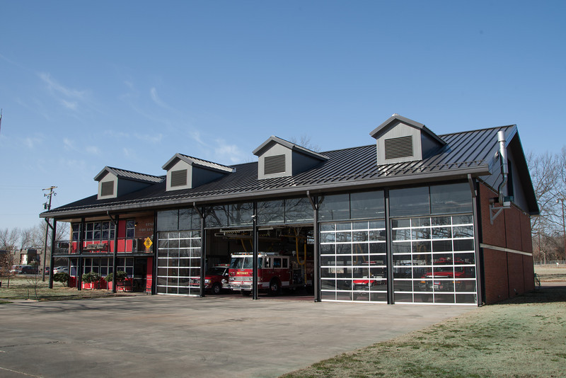 The Bethany Fire Department in Bethany, OK.