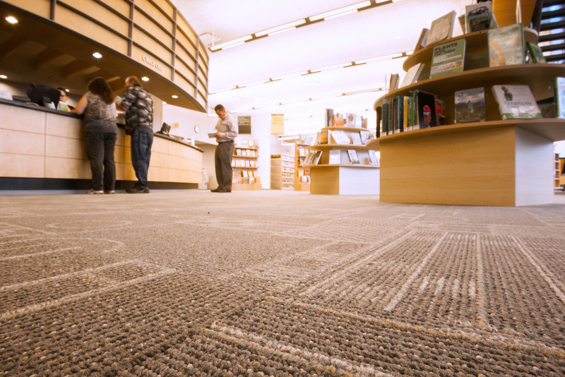 The downtown Oklahoma City Public Library will soon be closed while new carpet is installed.