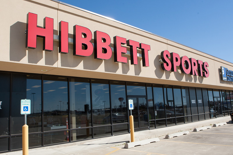 Hibbett Sports in El Reno, OK.