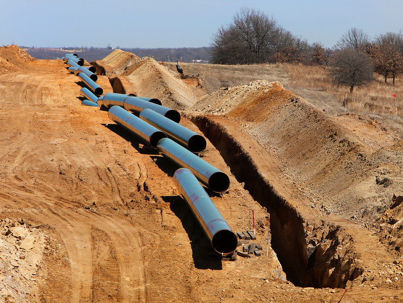 The Flanagan South Pipeline in Osage county