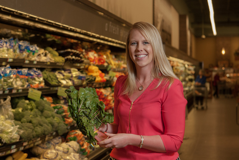 Alyson Dykstra, dietitian for Homaland Grocery stores.