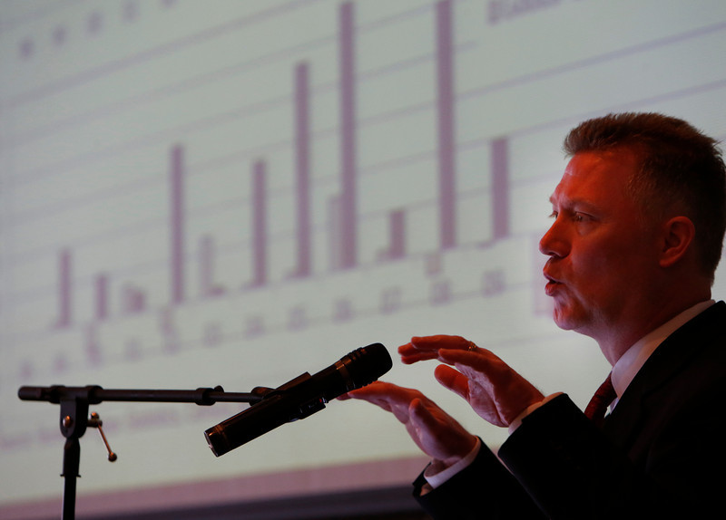 Mark Snead, president and Economist at RegionTrak, gives his economic forecast for Owasso Friday.