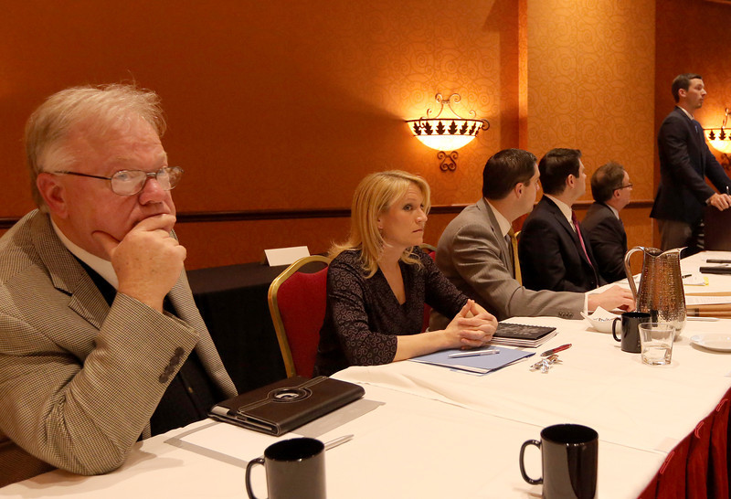 A panel discussion at the GTAR Wednesday morning in Tulsa.