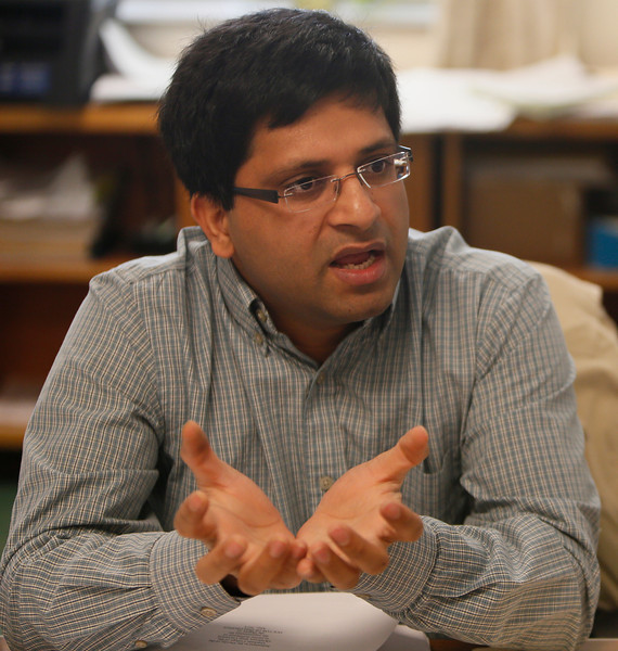 Ajay Kumar, Assistant Professor of Biomass Thremochemical Conversions at Oklahoma State University in Stillwater.