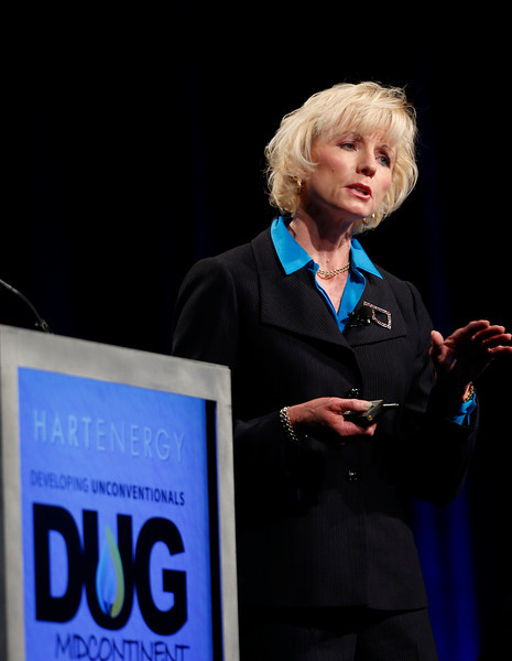 In Tulsa Dana Murphy, Oklahoma Corporation Commissioner, speaks at the DUG Convention about the what completion strategies are working in which plays and how are operators fine-tuning their approaches.