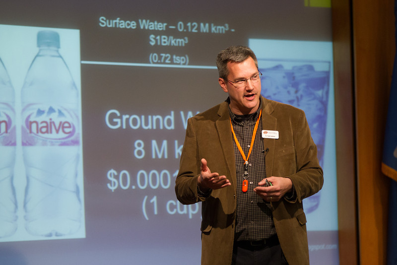 Dr Todd Halihan talks about the importance of accessing and managing ground water.