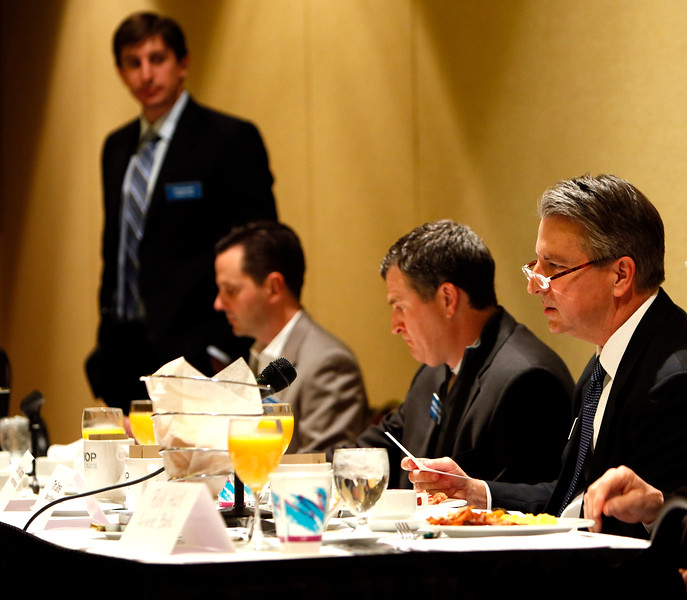 Bankers talk of competitive environment, long-term challenges at the NAIOP monthly panel meeting.