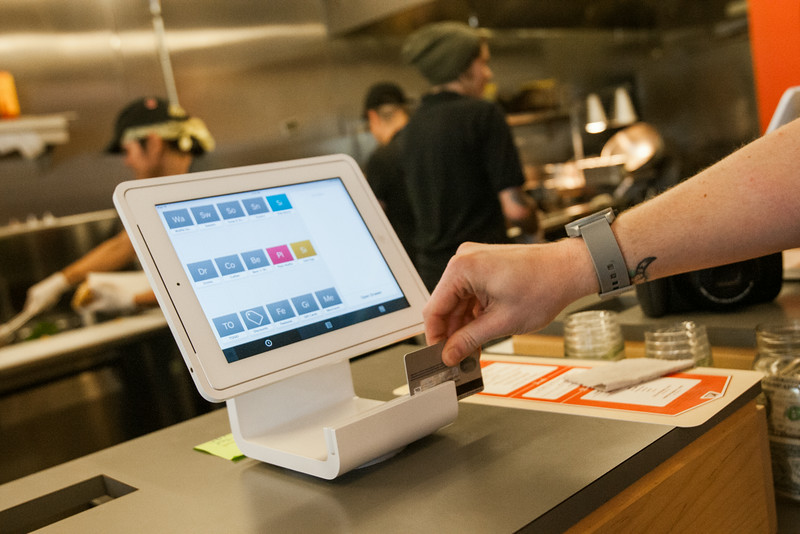 Waffle Champion, in Midtown, accepts payments through Square.