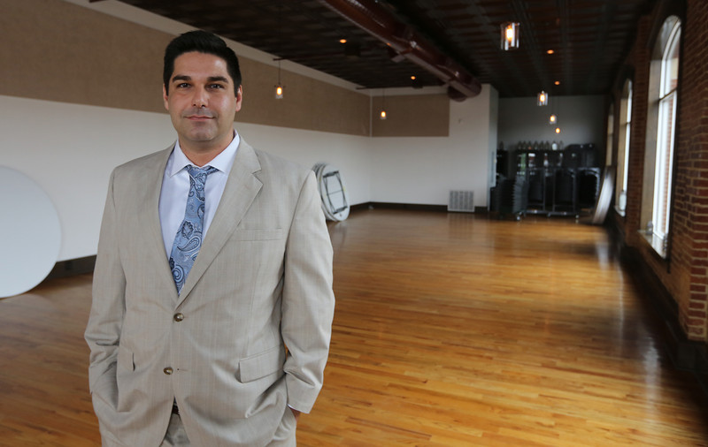 Jason Scarpa, owner of the Main Street Tavern in downtown Broken Arrow.