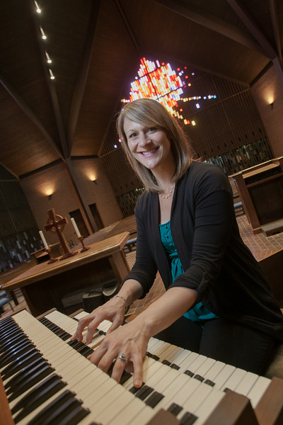 Melissa Plaman, Organist for Oklahoma City University.
