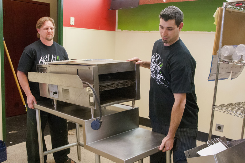 Clayton Robertson and Cody Hail are opening Uban Taco at 110 N Robertson in Oklahoma City.