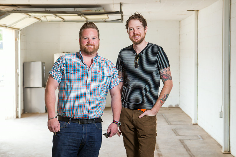 Russ Johnson and Johnathon Stranger, owners of Ludivine Resturaunt, are opening the R&J Lounge and Super Club at NW 10th and Hudson in Oklahoma CIty, OK.