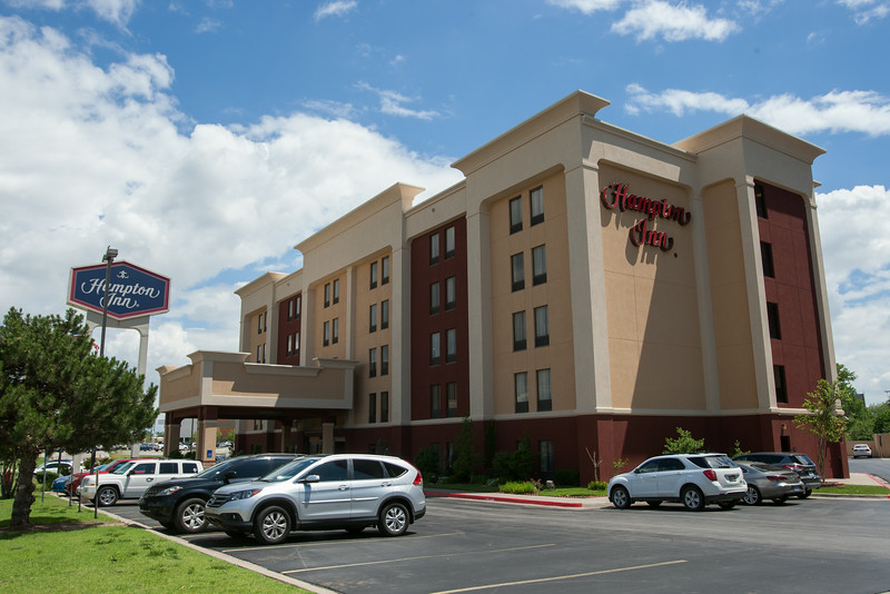 Hapton Inn at NW Expressway and Brookline Drive in Oklahoma CIty, OK.
