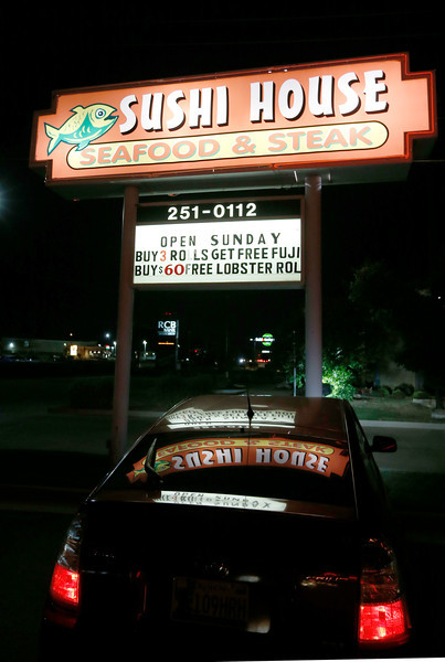 The Sushi House in Broken arrow.