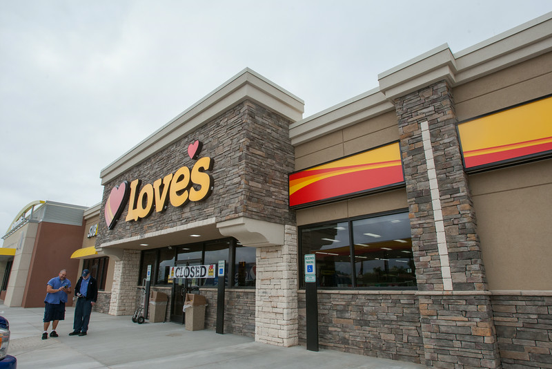 The new Love's location will open at the Choctaw Road exit on I-240 on May 17.