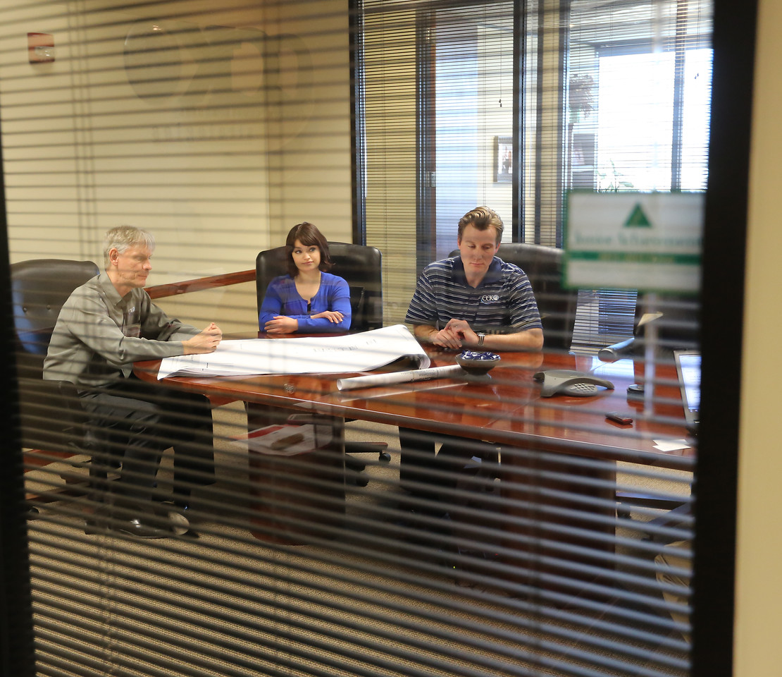 left to right: Eric M. Kunkel, partner; Kaitlin Sharpe, project manager; Aaron Spoon, Tax manager.