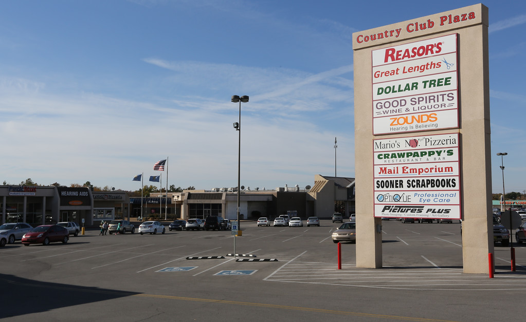 The Country Club Shopping Center in midtown Tulsa.<br /> <br /> 51st & Harvard