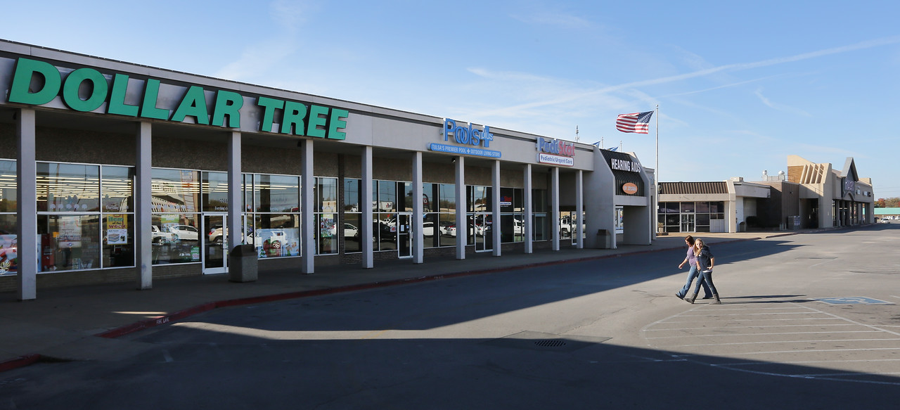 The Country Club Shopping Center in midtown Tulsa.  51st & Harvard