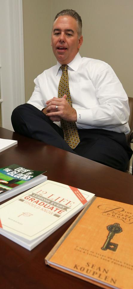 Sen Kouplen, CEO of Gegent Bank in Tulsa and author of three books.