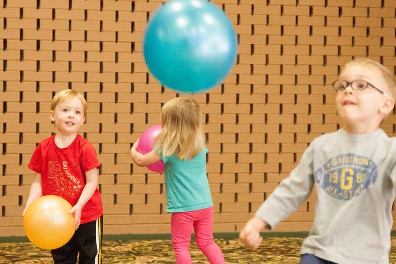 Kids playing at St Luke's Children's Center in Oklahoma City, OK.