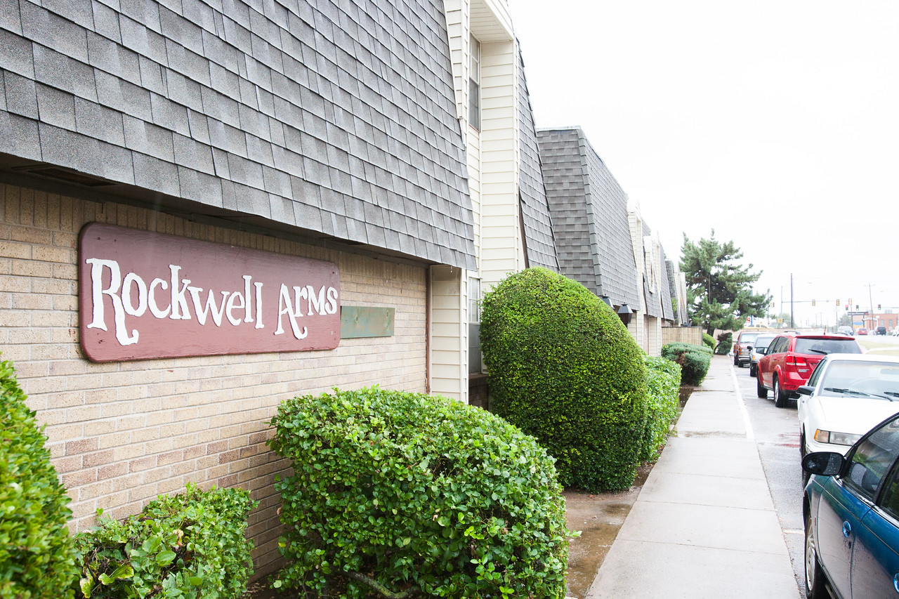 Rockwell Arms apartments in Oklahoma CIty, OK.
