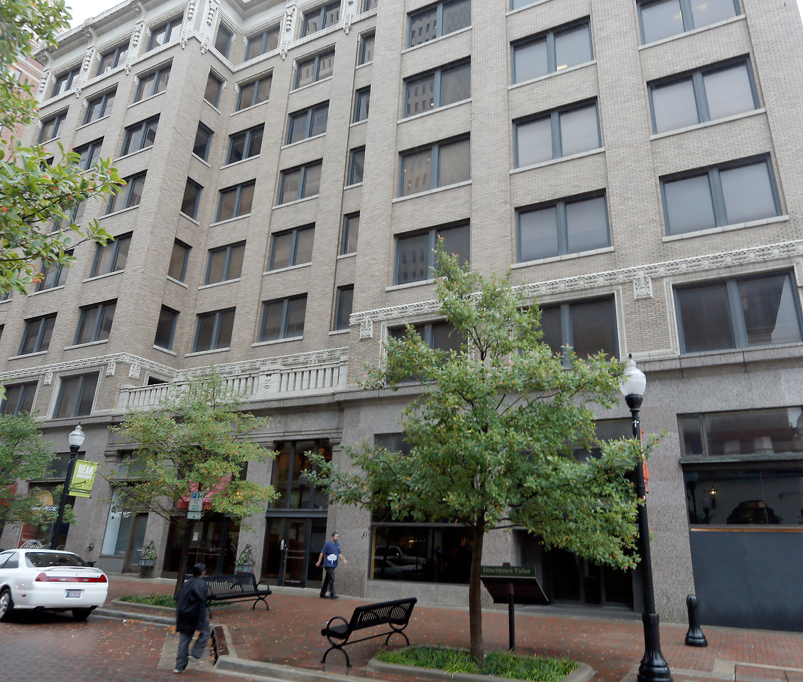 The Sinclair Building in downtown Tulsa will go up for sale at the sherifs auction.