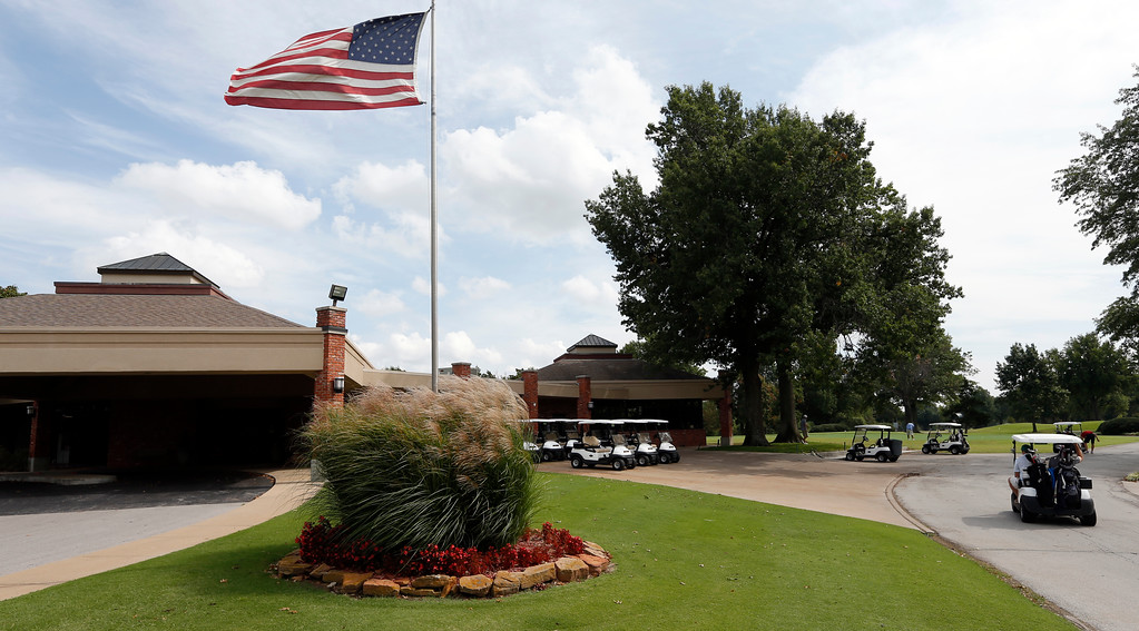 The Meadowbrook Country Club in Tulsa.