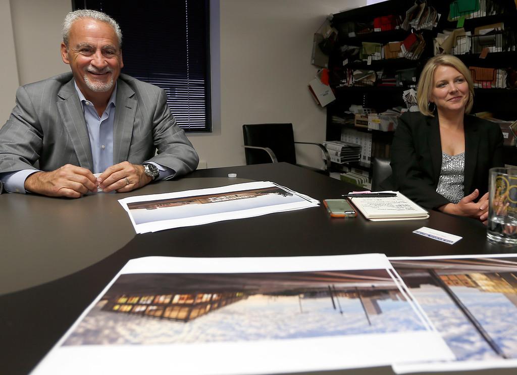 David Short and Monica Roberts of KSQ Architects in Tulsa.