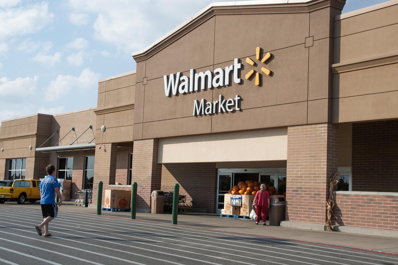 Wal-Mart Neihberhood Market on NW 23rd in Oklahoma City, OK.