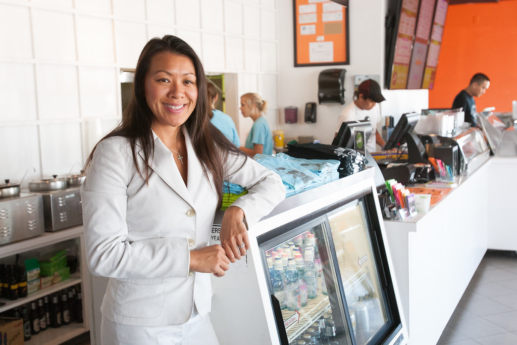 Mary Nihn, owner of Nihnja Sushi.