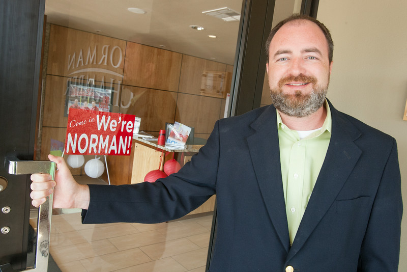John Woods, President and CEO of the Norman Chamber of Commerce.