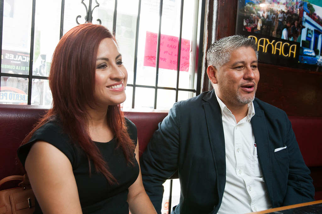 Brenda and Jorge Hernandez, owners of Tango Public Relations in Oklahoma CIty.