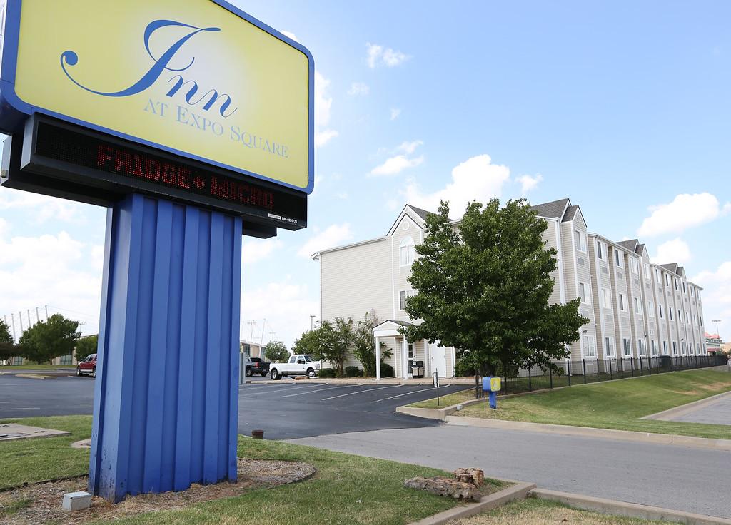 The Fairgrounds Hotel located on the Tulsa fairgrounds.
