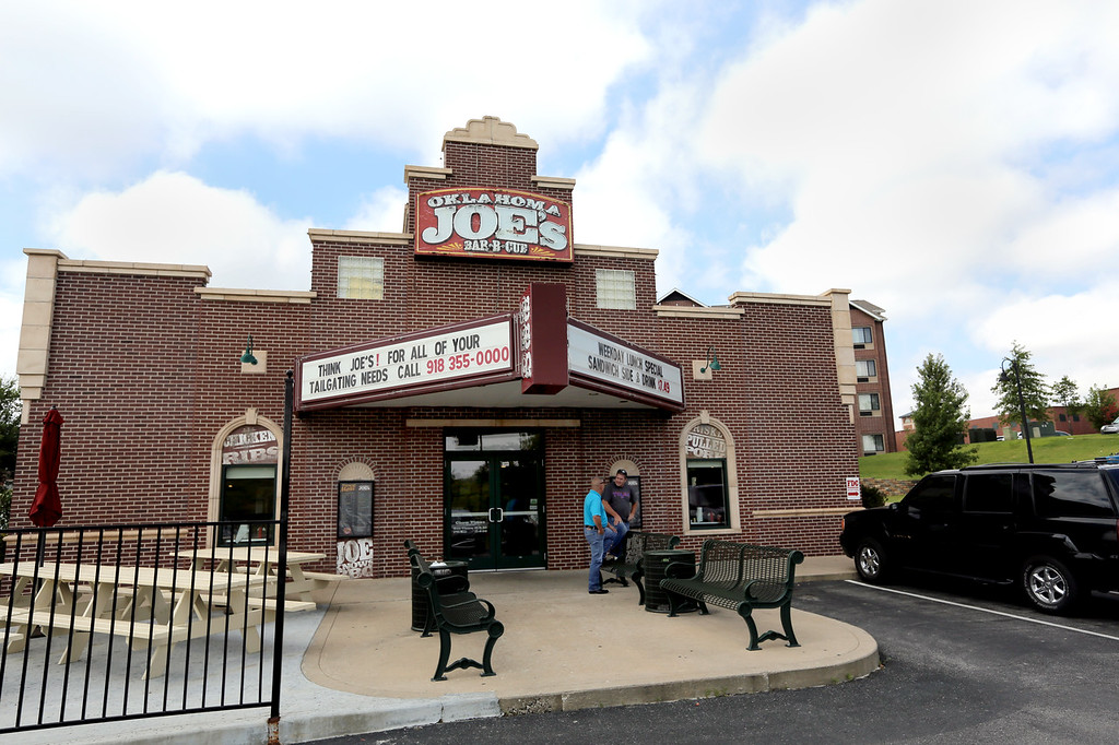 Oklahoma Joe's BBQ restaurant location in Broken Arrow.