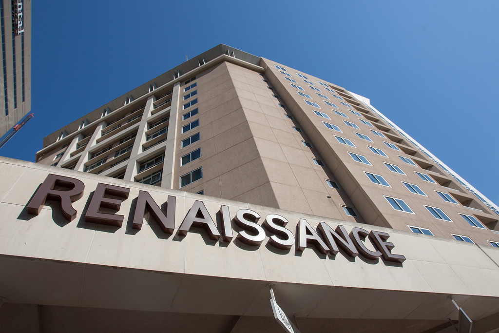 The Renaissance Hotel in downtown Oklahoma City.