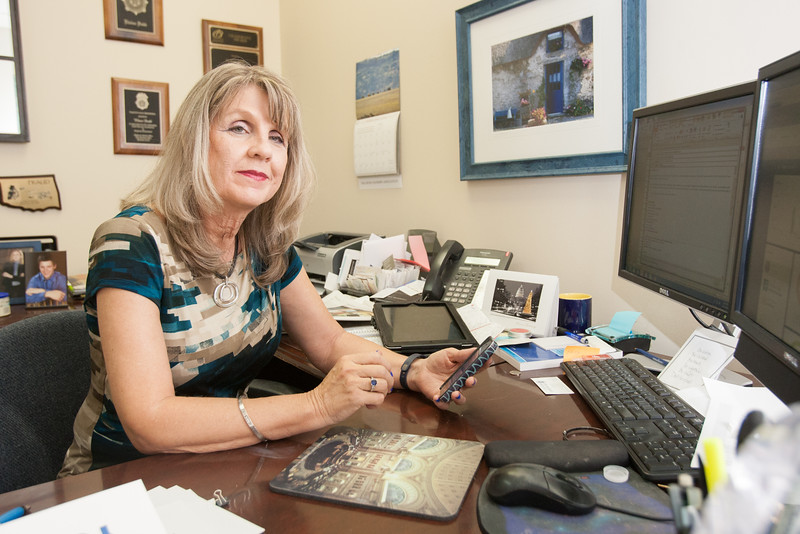 Elaine Dood, Vice President of the Fraud Division at the Oklahoma Banker's Association.