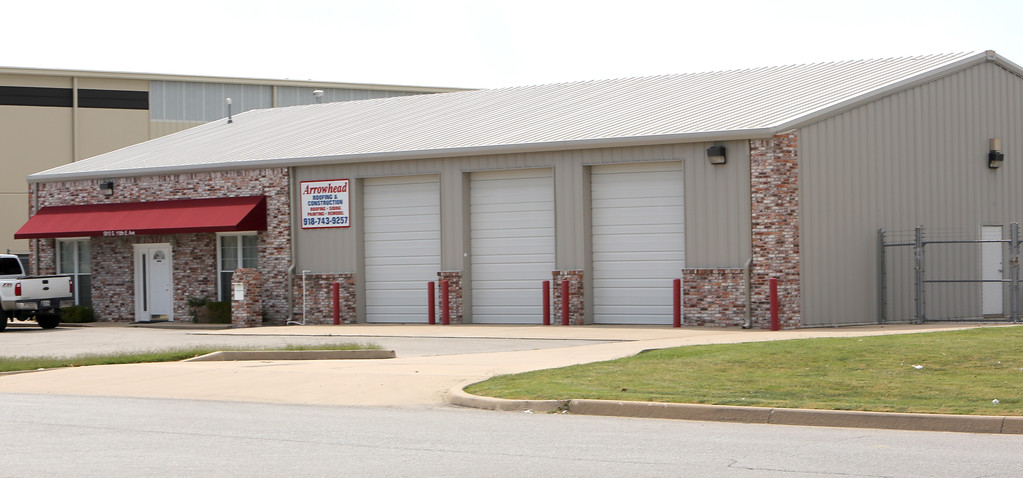 Arrowhead roofing's National Corporate Offices at 5810 South 118th East Avenue in Tulsa.