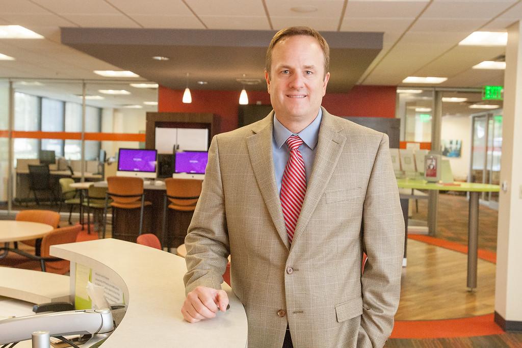 Troy Thomas, Oklahoma Campus Acadimic Director for Phoenix University in Oklahoma CIty, OK.