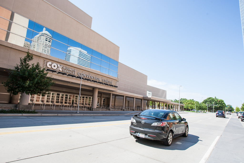 The Cox Convention Center in Oklahoma CIty, OK.