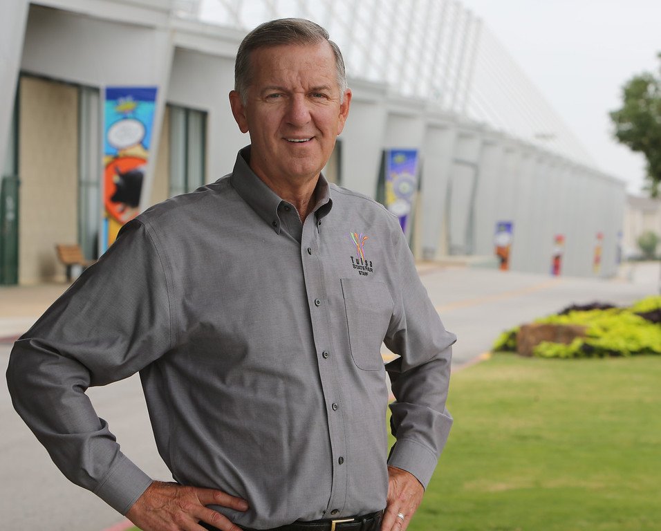 Mark Andrus, President/CEO of the Expo Square on the Tulsa State Fairgrounds.