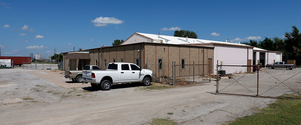 The office & warehouse located at 3777 S. Jackson Ave. in Tulsa.<br /> <br /> Sinclair lawsuit.