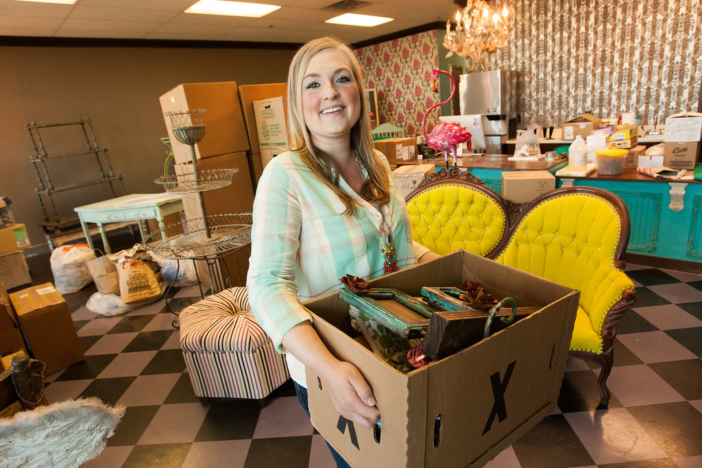 Holly McGowen is moving her business Sweets & Spurs from Norman to Casedy Square in The Village at N Penn and Britton.