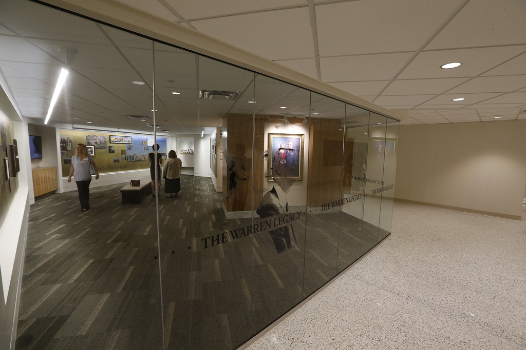 The Warren Legacy room of the Saint Francis Hospital Trauma Center in Tulsa.