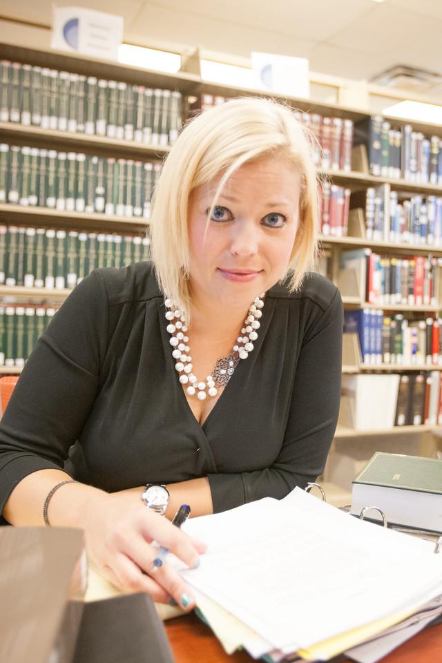 Christina green, interim director of the Oklahoma Innocence Project.