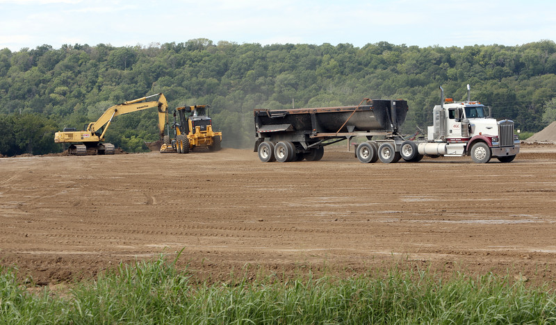 Construction has begun on the expansion of the Matrix plant at the Port of Catoosa.