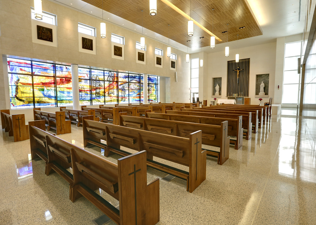 The Chapel of the Saint Francis Hospital Trauma Center in Tulsa.