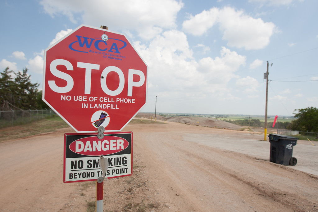 The Pauls Valley Landfill plans to incorperate recycling drilling mud into their operations.