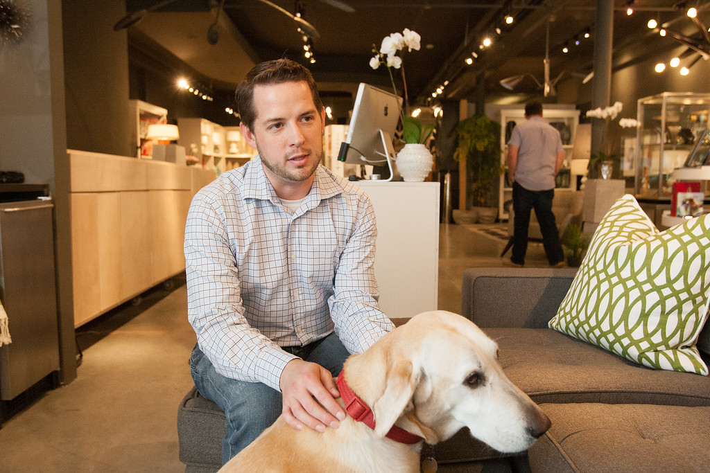 Ben Davis, co-owner with of Urbane located at 1015 N Broadway in Oklahoma City, OK.