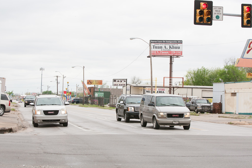 Southwest 29th Street near S. Western Ave in Oklahoma City