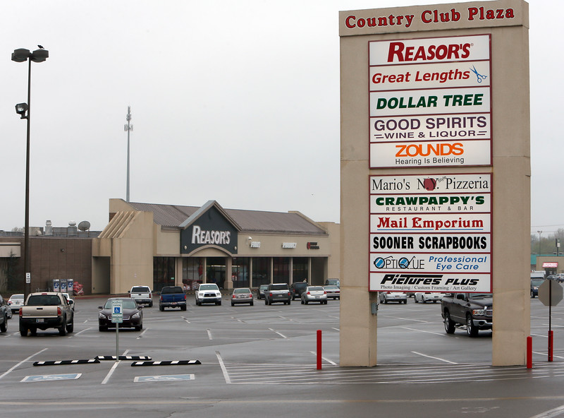 The Country Club Plaza in midtown Tulsa.